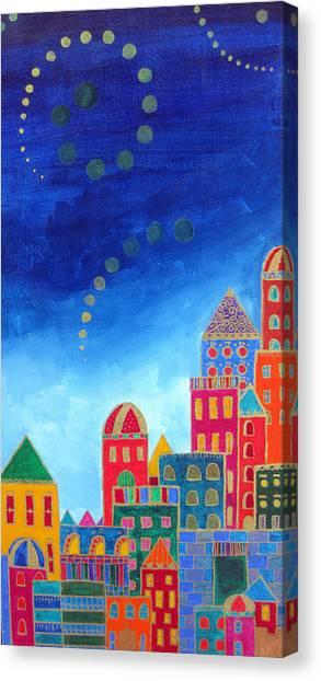 Dreams Above Jerusalem Canvas Print