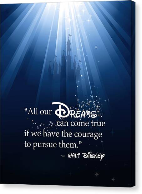 Graduation Canvas Print - Dreams Can Come True by Nancy Ingersoll