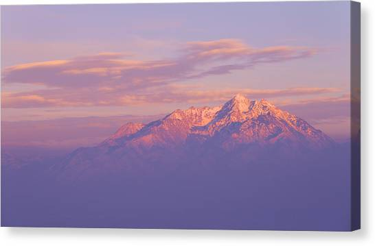 Mountain West Canvas Print - Dreams by Chad Dutson