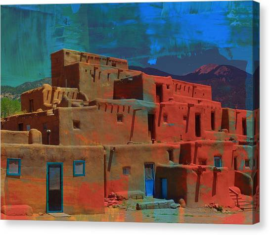 Dreams Of Taos Canvas Print