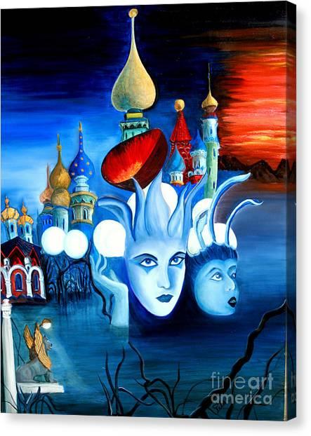 Dreams Canvas Print by Pilar  Martinez-Byrne