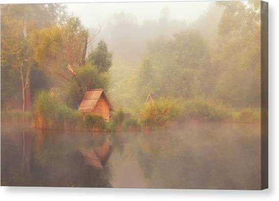 Pond Canvas Print - Dreamscape by Leicher Oliver