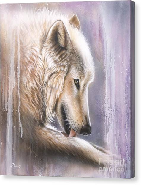 Dreamscape Wolf IIII Canvas Print
