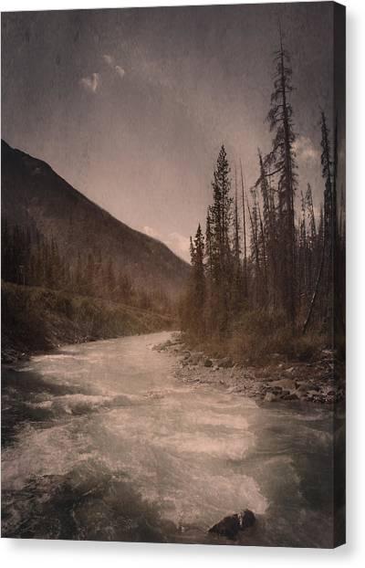 Dreamy River Canvas Print