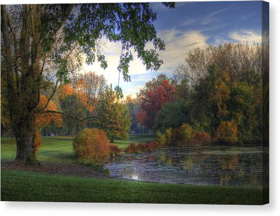 Dreamy View Canvas Print