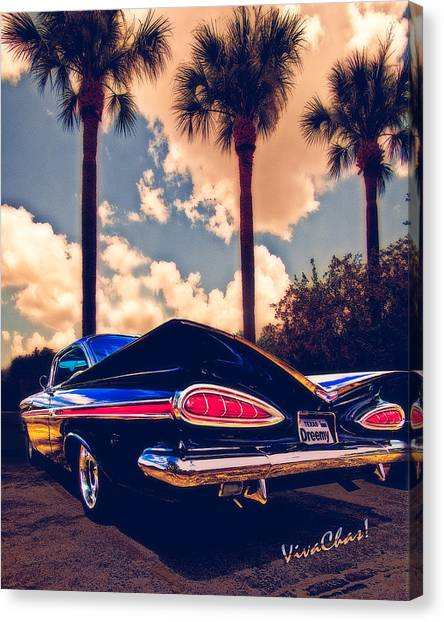 Dreemy 59 Impala - How Do U Live W/o It? Canvas Print