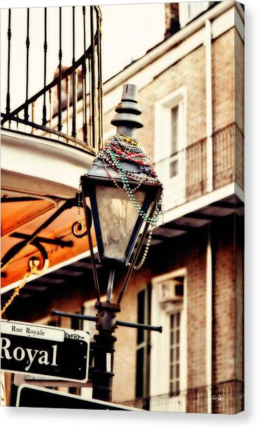 Mardi Gras Canvas Print - Dressed For The Party by Scott Pellegrin