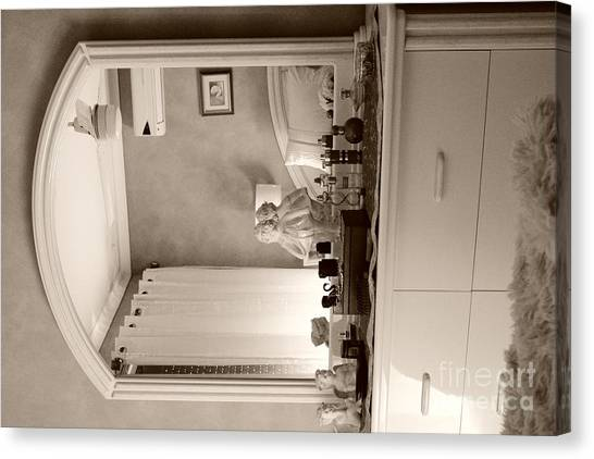 Dressing Mirror  Canvas Print by Bobby Mandal