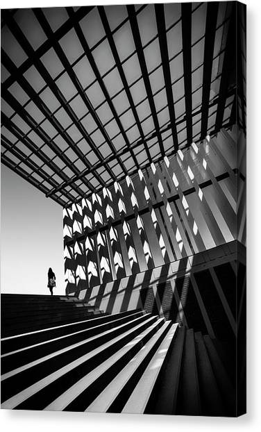 Ceiling Canvas Print - Drifting by Paulo Abrantes