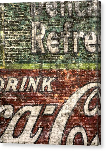 Coca Cola Canvas Print - Drink Coca-cola 1 by Scott Norris