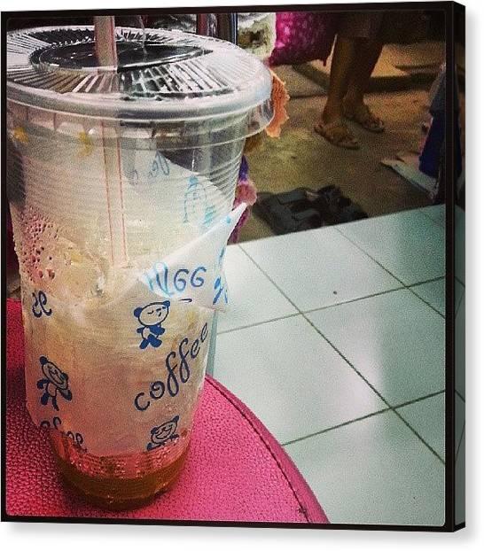 Beer Can Canvas Print - #drink #drinks #slurp #tagsforlikes by Ashrafkhan VONGSENGSEY