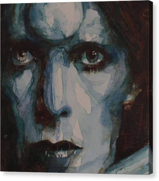 David Bowie Canvas Print - Drive In Saturday by Paul Lovering