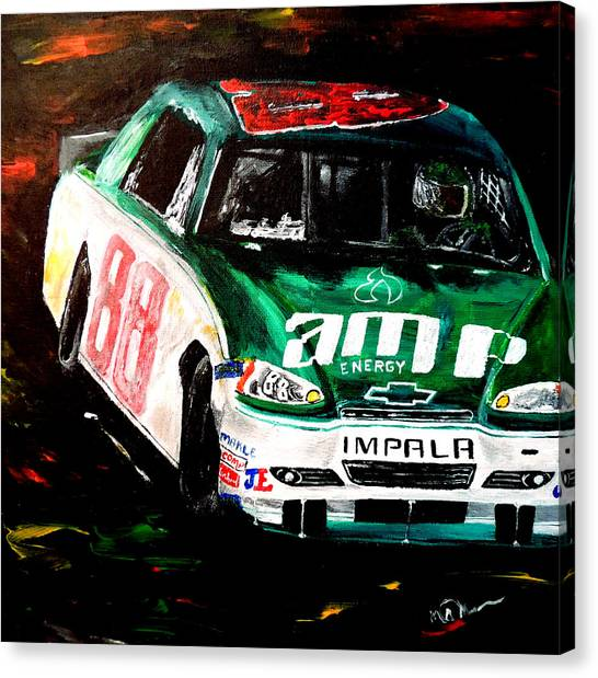 Hendrick Motorsports Canvas Print - Driven  by Mark Moore
