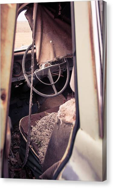 Drivers Seat Canvas Print