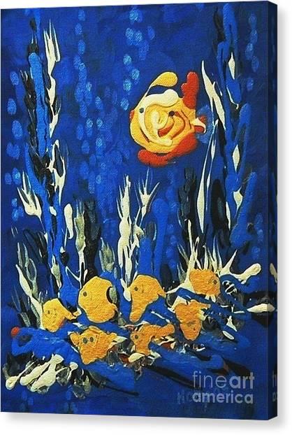Drizzlefish Canvas Print