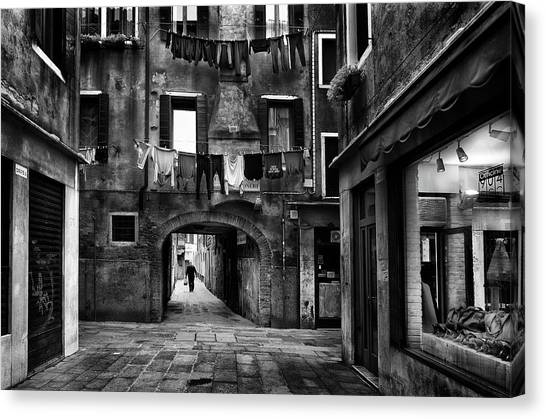 Tunnels Canvas Print - Drop-off Laundry Service by Ricky Siegers