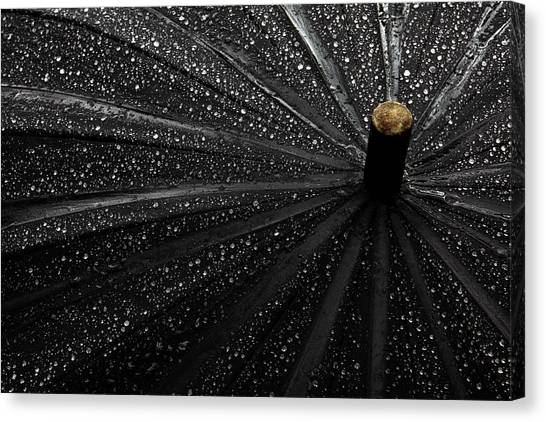 Drops Canvas Print by Gilbert Claes