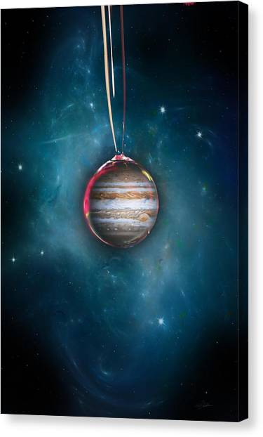 Jupiter Canvas Print - Drops Of Jupiter by Peter Chilelli