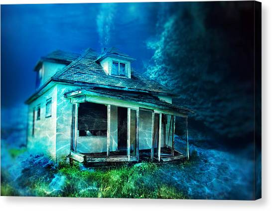 Drywall Canvas Print - Drought by Starlux  Productions