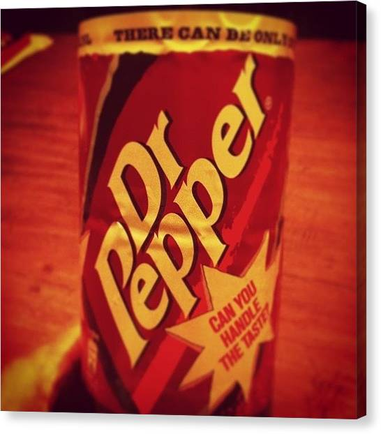 Dr. Pepper Canvas Print - Dr.pepper All by Danny Wieland