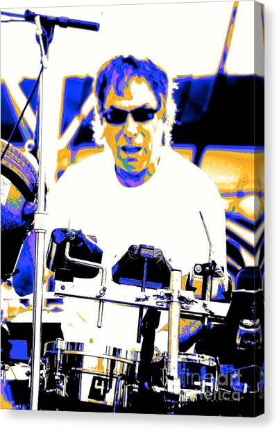 Drumming On The Edge Of Magic Canvas Print