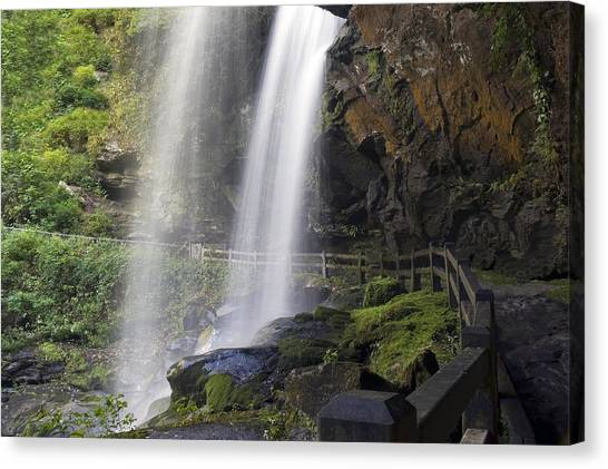 Dry Falls North Carolina Canvas Print