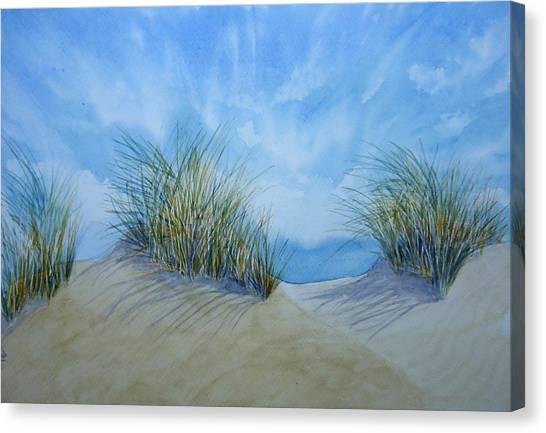 Dry Grass Canvas Print