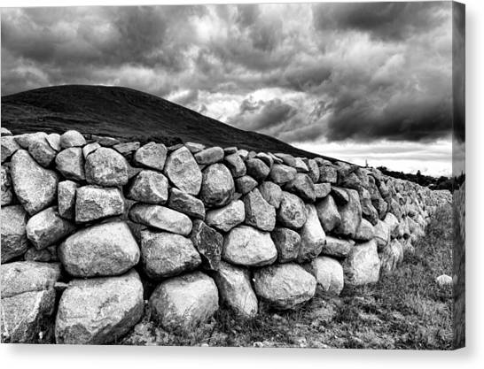 Dry Stone Wall Canvas Print