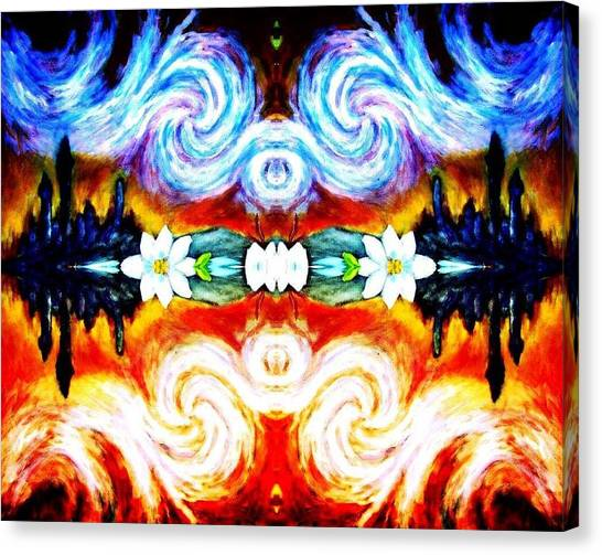 Duality  Canvas Print by Sebastian Pierre