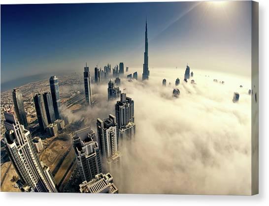 Dubai Canvas Print by © Naufal Mq