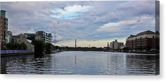 U2 Canvas Print - Dublin Docklands by Stephen Browne