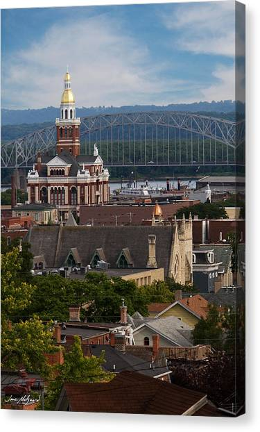 Dubuque Iowa Canvas Print