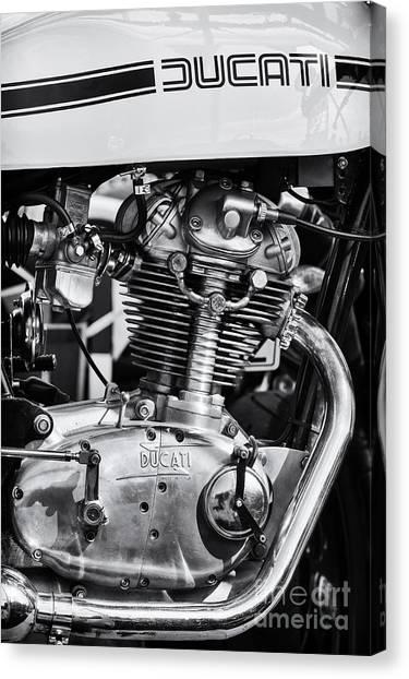Ducati Canvas Print - Ducati Desmo by Tim Gainey