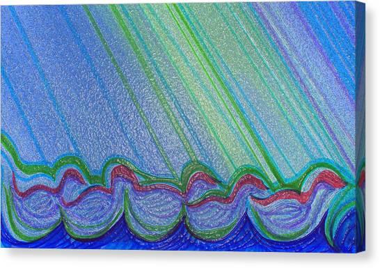 Ducks By Jrr Canvas Print