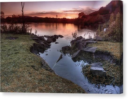 Duddingston Loch Canvas Print