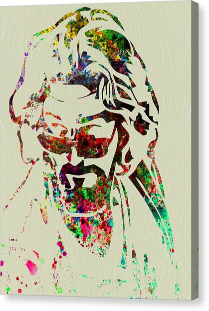 Film Canvas Print - Dude by Naxart Studio