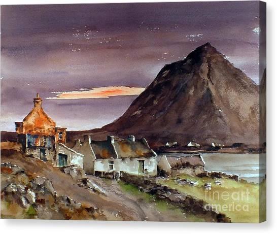 Dugort Achill Island Mayo Canvas Print