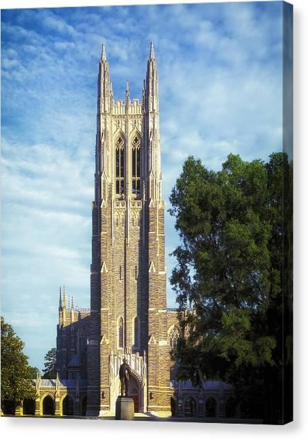 Canvas Print - Duke University's Chapel Tower by Mountain Dreams