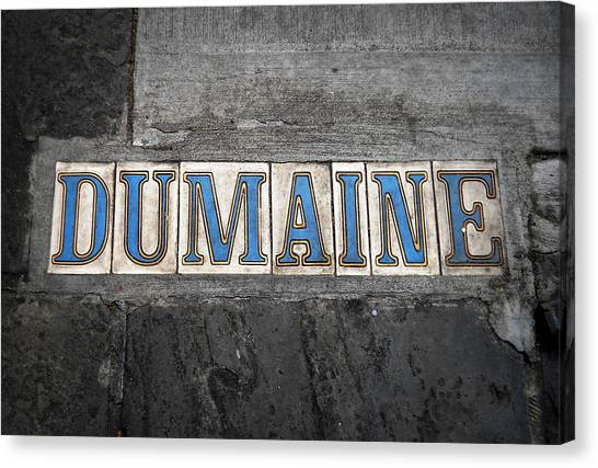 Dumaine Canvas Print