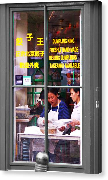 Dumplings Canvas Print