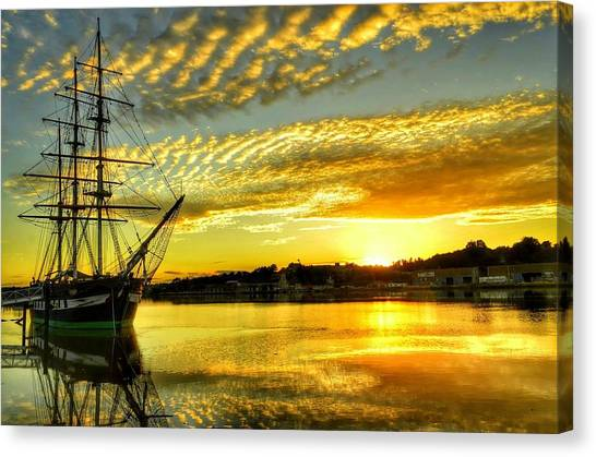 Dunbrody Famine Ship Canvas Print