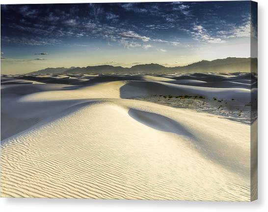 Dune Canvas Print by Christian Skilbeck