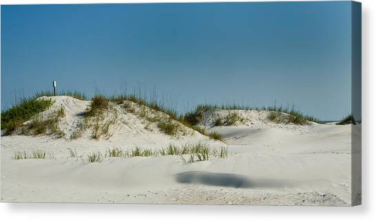 Dune Sign Canvas Print