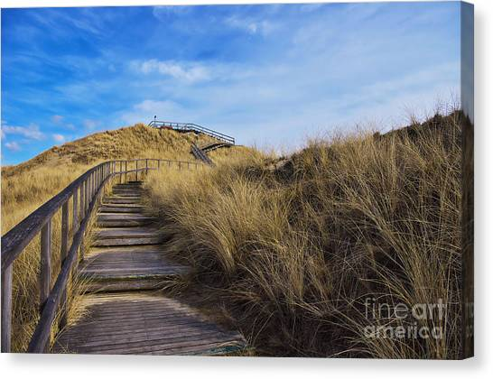 Dune With A View Canvas Print