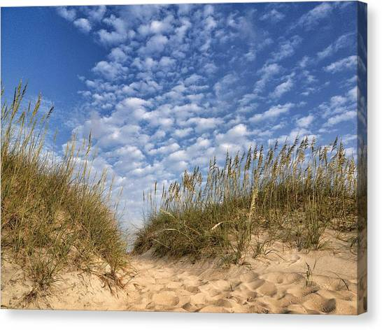 Dunes And Sky Canvas Print