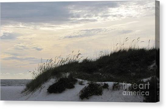 Dunes At Dusk Canvas Print by Gayle Melges