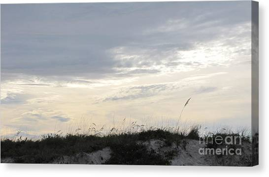 Dunes At Dusk II Canvas Print by Gayle Melges