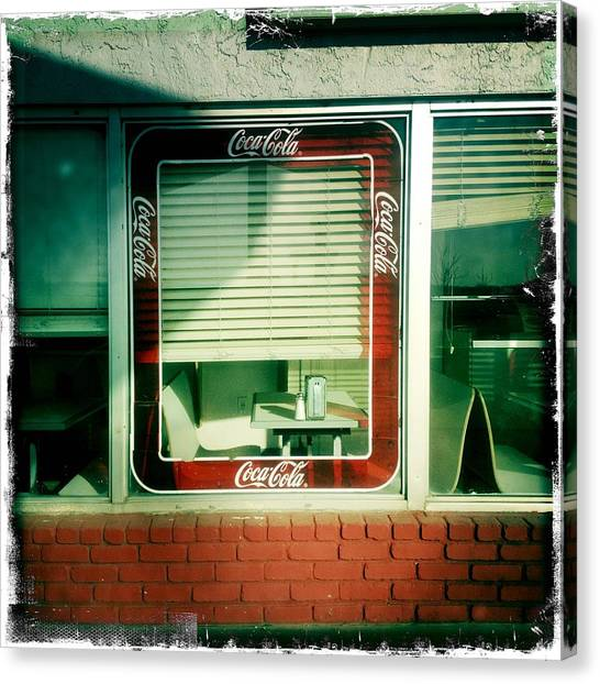 Dunnigan Cafe Canvas Print