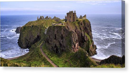 Dunnottar Castle Panorama Canvas Print