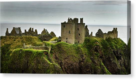 Dunnottar Castle Scotland Canvas Print